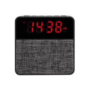 BT Altavoz-Radio FM-Reloj-Alarma